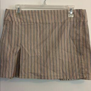 Burberry wrap around skirt